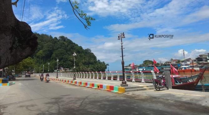 Kawasan Batang Arau kini menjadi objek wisata baru di Kota Padang setelah revitalisasi dengan anggaran Rp25 miliar tahun 2018