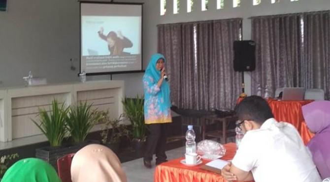 Kabid Pelayanan Promosi dan Sumber Daya Kesehatan Dinkes Payakumbuh, Munziarni.