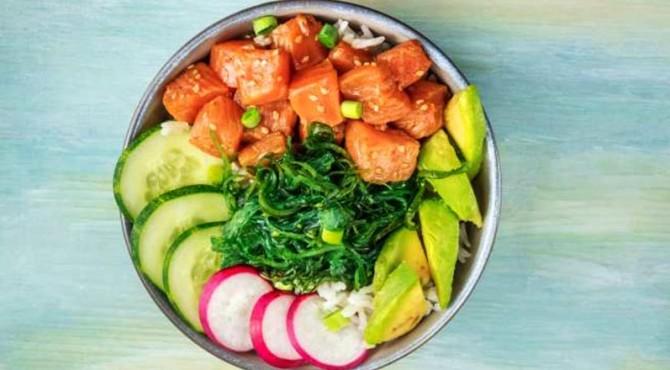 ilustrasi raw food diet.