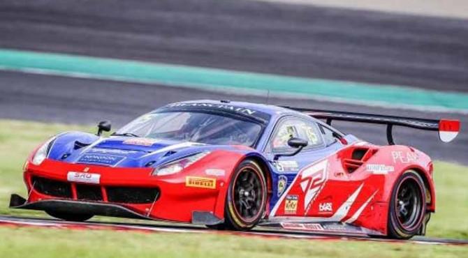 Penampilan tim T2 Motorsports dalam GT World Challenge Asia 2019 di Sirkuit Suzuka, Jepang