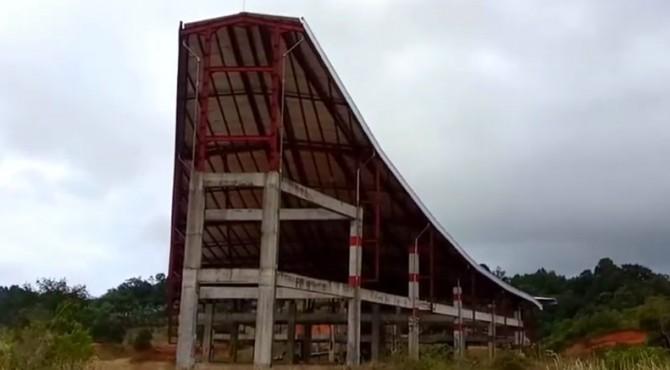 Kondisi Monumen Nasional PDRI di Koto Tinggi