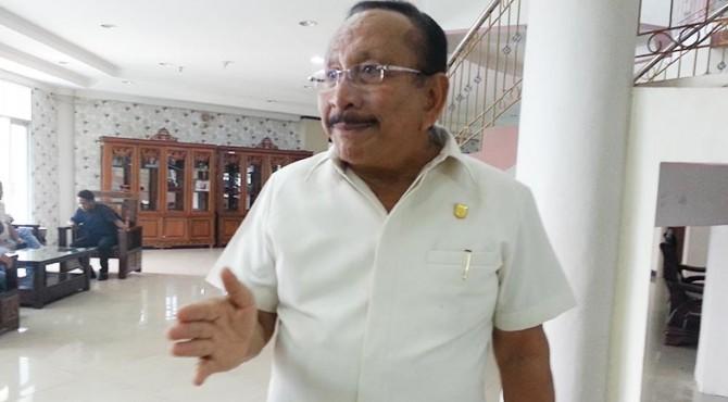 Ketua Fraksi PAN Baharuddin Raaban