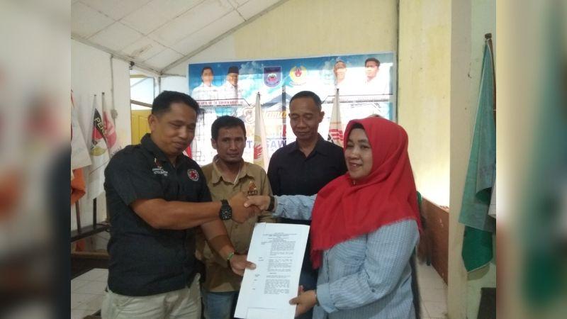 Musyawarah Cabang Luar Biasa (Muscablub) FPTI Sawahlunto di Sekretariat KONI Sawahlunto, Minggu 17 November 2019