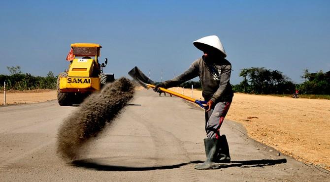 ilustrasi: pembangunan jalan