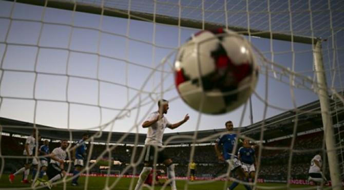 Gol yang diciptakan oleh pemain Jerman saat melawan San Marino.