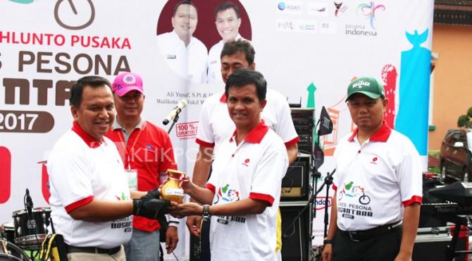 Kegiatan Pesona Gowes Nusantara yang diikuti lebih dari 1000 peserta