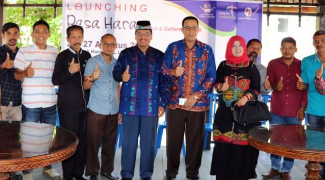 Peluncuran Pasa Harau Art & Culture Festival 2017 di Pendopo Rumah Dinas Bupati Irfendi Arbi.