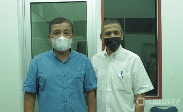 Calon Ketua Umum KONI Sumbar, Agus Suardi dan Amril Amir