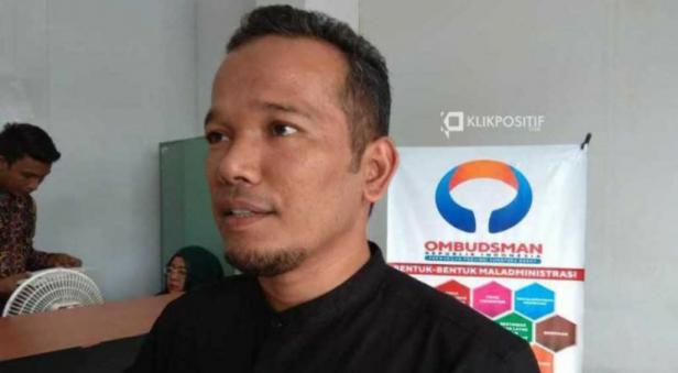 Kepala Keasistenan Bidang Pencegahan Ombudsman RI Perwakilan Provinsi Sumatera Barat Adel Wahidi