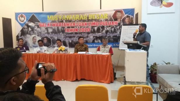 Ketua Koordinator BW Luak Limopuluah terpilih, Afridel Ilham.