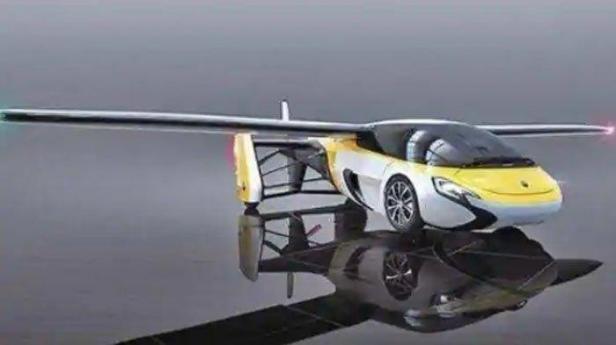 Ilustrasi: Mobil terbang