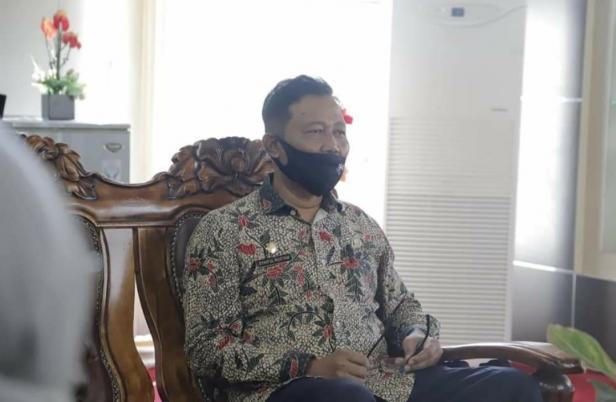 Sekretaris tim penanganan Covid-19 kota Solok, Syaiful Ristam