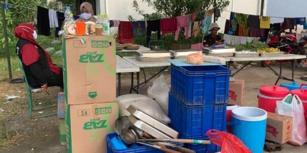 Lokasi evakuasi warga terdampak aktivitas Merapi yang meningkat