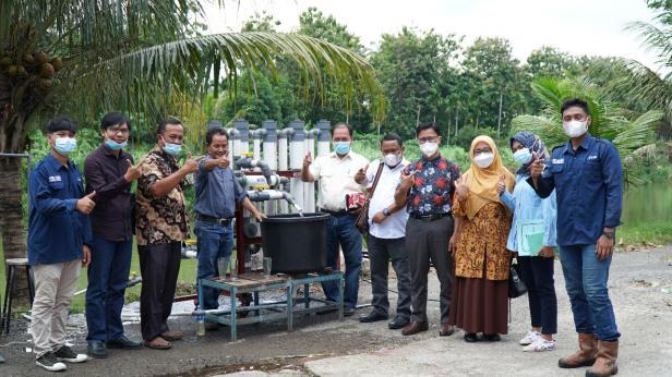 PT. Gruti Lestari Pratama dan SMKN 1 Sinunukan, Kabupaten Mandailing Natal, Sumatera Utara melakukan studi banding ke Institut Teknologi Padang (ITP), Sabtu (3/7/2021).