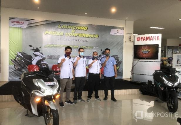 Launching All New Aerox 155 Connected di Padang