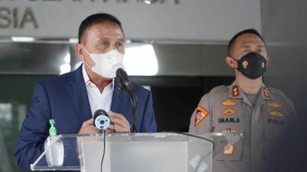 Ketua Umum PSSI Komjen Pol (Purn) Mochamad Iriawan