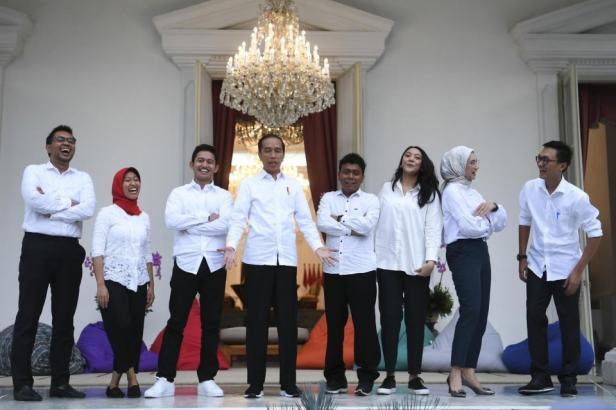 Staf Khusus Milenial Jokowi