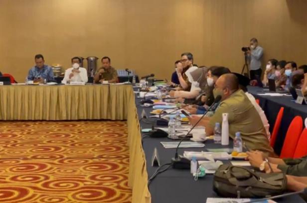 Anggota Komisi VI DPR RI Andre Rosiade saat rapat Spesifik Komisi VI DPR RI di Kendari, Provinsi Sulawesi Tenggara (Sulteng), beberapa waktu lalu.