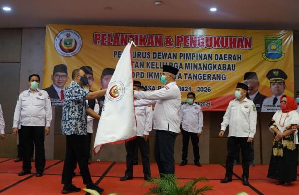 Andre Rosiade kukuhkan kepengurusan IKM Kota Tangerang