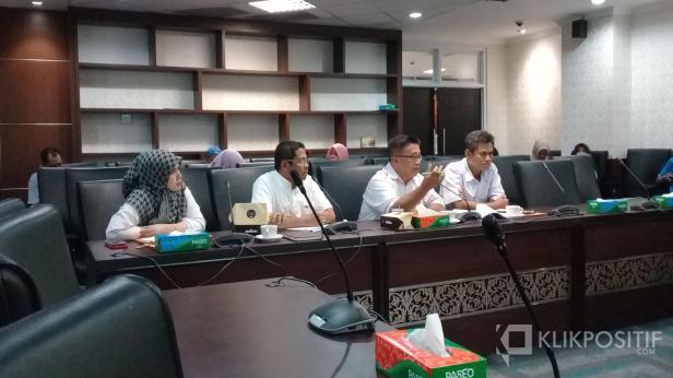 Dengar pendapat komisi IV DPRD Sumbar dengan BPBD, Rabu, 8 Januari 2020