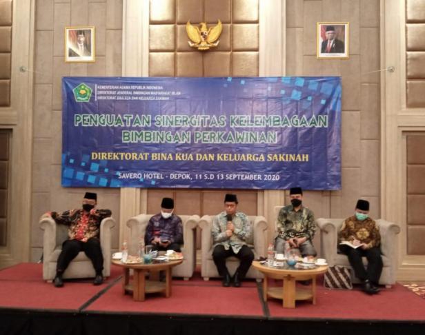 Kegiatan Penguatan Sinergisitas Kelembagaan Bimbingan Perkawinan di Depok, Jumat (11/09)