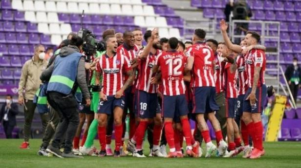 Atletico Madrid meraih  gelar juara La Liga musim ini