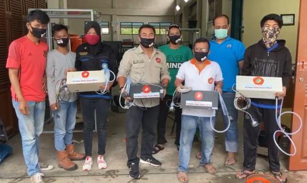PNP hibahkan Automatic Sprayer Controller untuk RSUP Dr. M. Djamil Padang