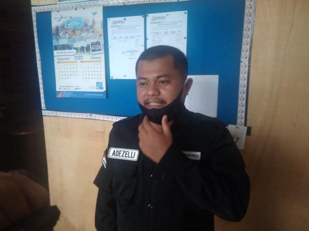 Komisioner Bawaslu Solsel Divisi Pengawasan Ade Kurnia Zelli