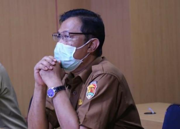 Sekretaris tim penangan Covid-19 kota Solok, Syaiful Rustam