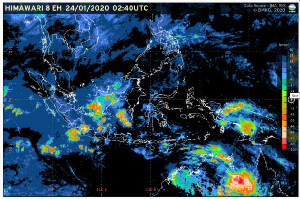 Kondisi cuaca di Indonesia