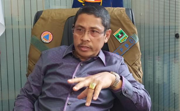 Kalaksa BPBD Sumbar Erman Rahman