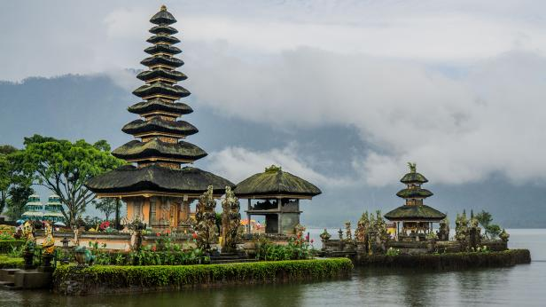 (ilustrasi) salah satu objek wisata populer di Bali
