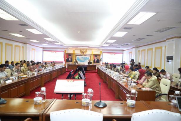 Pertemuan Mendagri dengan pimpinan 9 universitas
