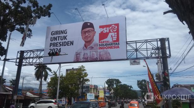 Baliho Giring Untuk Presiden 2024