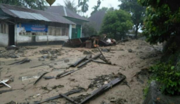 Longsor melanda Nagari Guguak Malalo, Tanah Datar