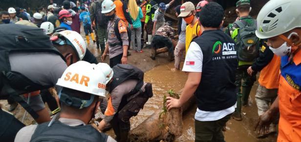 Tim ACT siaga di Sukabumi