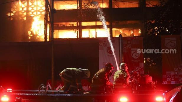 Kebakaran di gedung Kejagung