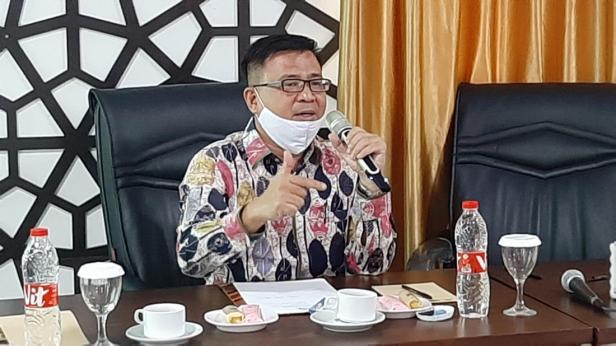Kasubdit Dokumen dan Perlengkapan Haji Reguler Ditjen PHU Nasrullah Jasam