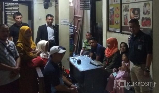 Nasabah Developer Perumahan PT. Makna Karya Nusa di Mapolresta Padang