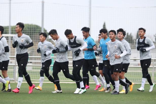 TC Timnas Indonesia U-19 di Spanyol