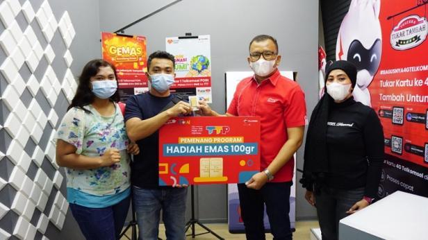 Beri Apresiasi Kepada Pelanggan Setia Sumatera, Telkomsel Serahkan Ribuan Hadiah di Program To the POIN Festival