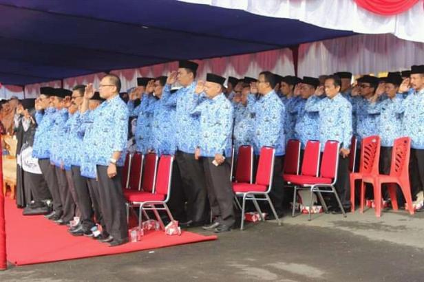 PNS Kabupaten Pasbar saat acara Kopri