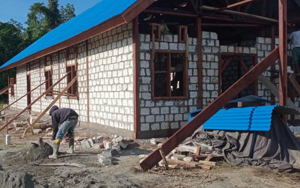Berkat Kerjasama, Pembangunan di Lokasi TMMD Tunjukkan Progres Signifikan