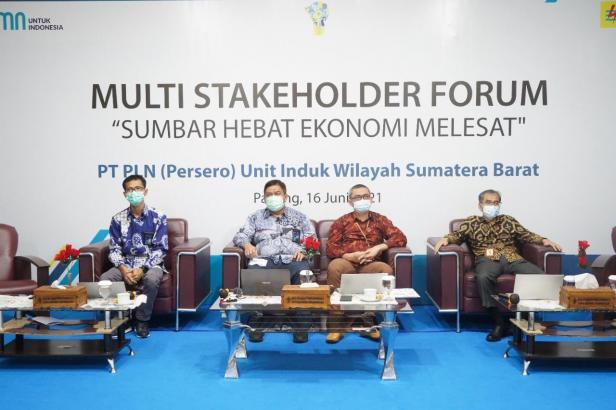 PLN Unit Induk Wilayah (UIW) Sumbar adakan Multi Stakehoder Forum (MSF), Rabu (17/06).