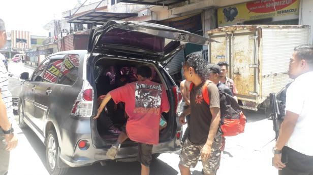 Anak Jalanan yang Diamankan Polsek Padang Barat