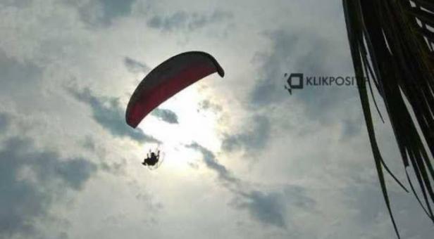 Ilustrasi pilot terbang