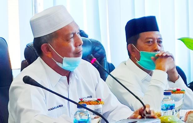 Bupati Hamsuardi dan Wakil Bupati Risnawanto