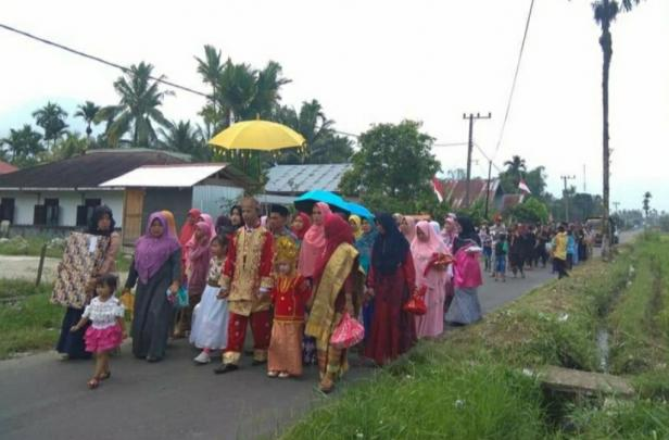 Pesta pernikahan di Maninjau (Sebelum Pendemi COVID-19)