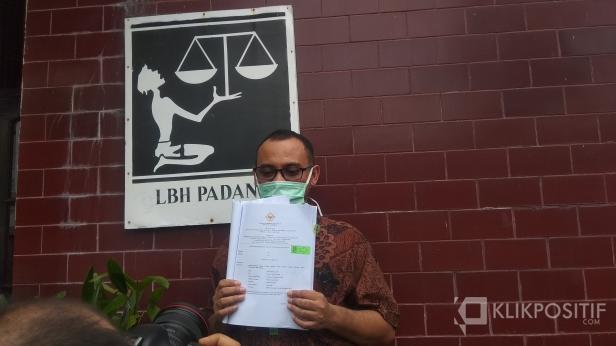 Alde Maulana di LBH Padang