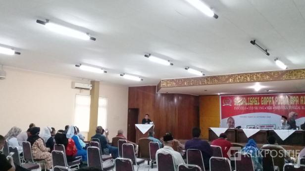 Anggota DPD RI daerah pemilihan Sumbar, Alirman Sori